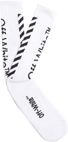 Off-White Logo-jacquard socks