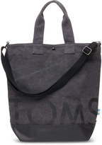 Toms Charcoal Compass Tote Bag