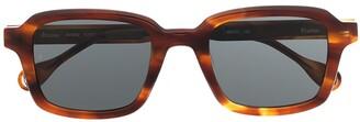 Études Studio tortoiseshell sunglasses