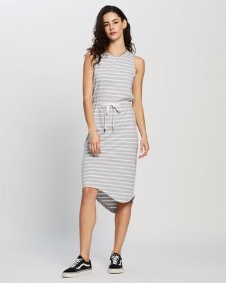 Silent Theory Waisted Midi Dress