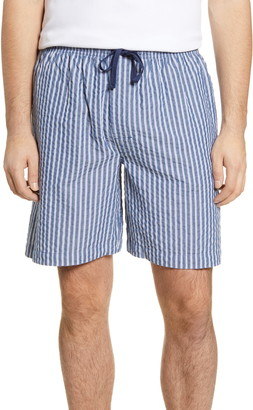 Majestic International Great Lengths Seersucker Stripe Shorts