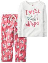 Carter's Baby Girl 2-pc. Cat Pajama Set