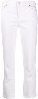 Lauren Ralph Lauren High Rise Cropped Jeans