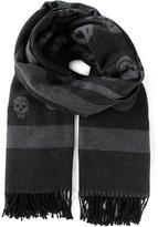Alexander McQueen maxi skull scarf