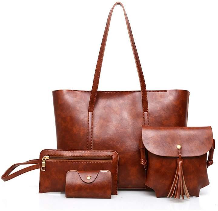 7a94a40cb220 CBZ 3pcs Bags Wallets & Totes 2018 Luxury Leather Bags Women's Messenger  Bags Women's Designer Bags