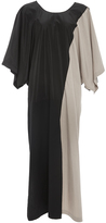 Tome Black and Khaki Kaftan