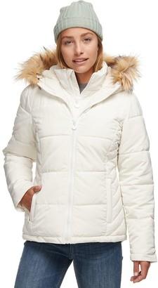 Stoic Sherpa Lined Hooded Puffer Jacket - Women's