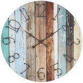 Pier 1 Imports Oversize Shore Drenched Wall Clock
