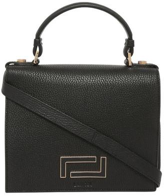 Lancel A09449 Pia Flap Bag Top Handle Crossbody Bag
