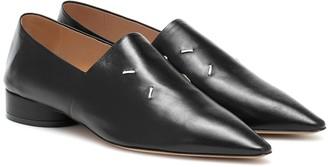 Maison Margiela 4-Stitches leather loafers