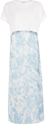 AllSaints Tie-Dye Imo Two-In-One Dress