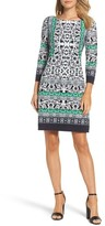 Vince Camuto Women's Print Sheath Dress