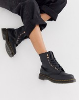 Dr. Martens 1460 soapstone leather ankle boots in black