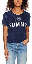 Tommy Hilfiger Women's Thdw Cn S/S 27 T-Shirt