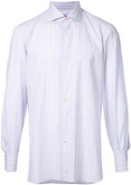 Isaia striped shirt - men - Cotton - 39
