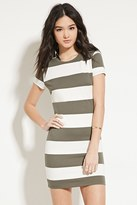 Forever 21 Striped Bodycon Dress