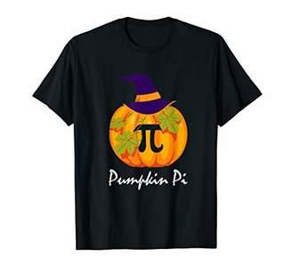 Pi Funny Pumpkin Halloween Gift T-Shirt