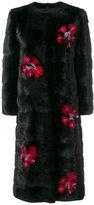 Simonetta Ravizza fur detail coat