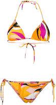 Emilio Pucci contrast bikini