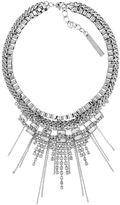 BCBGeneration Friday Night Crystal Collar Necklace
