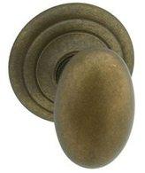 Cifial 870.841.V05.PR Oval Knob Asbury Rosette Indoor Door Handle