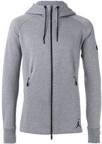 Nike Jordan zipped hoodie - men - Cotton/Polyester - M