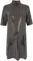 Oh My Love **high neck t-shirt dress