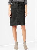 Gap 1969 A-line cord skirt