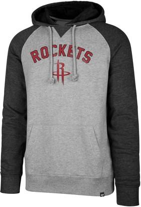 '47 Men's Houston Rockets Match Blend Raglan Hoodie