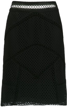 Olympiah Fellari panelled skirt