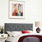 Modway Terisa Grey Full Fabric Headboard