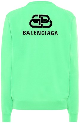 Balenciaga BB Mode virgin wool sweater