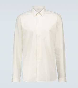 Saint Laurent Plastron long-sleeved shirt