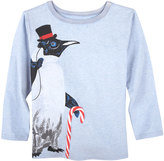 Andy & Evan Holiday Penguin T-Shirt, Size 2-7