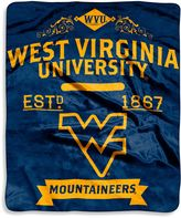 Bed Bath & Beyond West Virginia University Raschel Throw Blanket