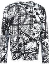 Love Moschino rollercoaster print sweatshirt - men - Cotton - L