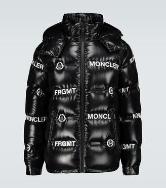 MONCLER GENIUS 7 MONCLER FRAGMENT Mayconne shiny puffer jacket