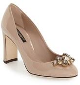 Dolce & Gabbana Women's Block Heel Pump