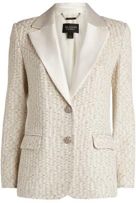 St. John Inlay Knitted Jacket