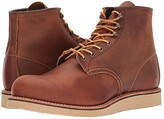 Red Wing Shoes 6 Rover Round Toe (Copper Rough and Tough) Men's Lace-up Boots