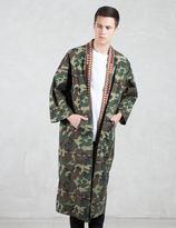 Phenomenon Woodland Camo Kimono Gown