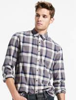 Lucky Brand Saturday Stretch One Pocket Flannel Shirt