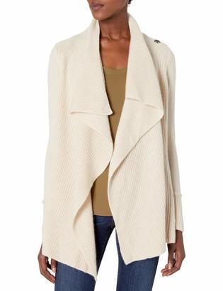 Design History Women's Draped Cozy Sweater