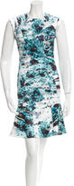 Yigal Azrouel A-Line Printed Dress