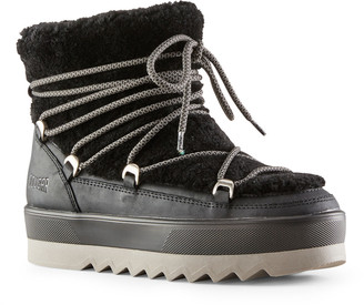 Cougar Verity Leather Shearling Winter Booties