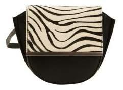 Sam Edelman Jasmine Animal-Print Calf Hair Belt Bag