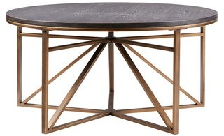 Madison Home USA Kayden Antique Bronze Coffee Table
