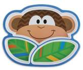 Stephen Joseph Melamine Monkey Tray in Brown
