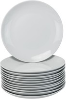 10 Strawberry Street 12-pc. Coupe Dinner Plate Set