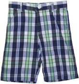E-Land Kids Plaid Shorts (Toddler/Kids) - Mint-2T